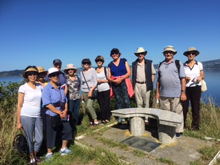 Walking Group on Soames Island