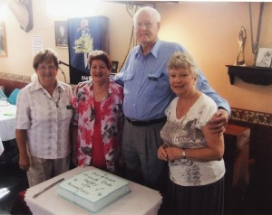 Frances, Anne, Keith & Jeanette at our 10th birthday